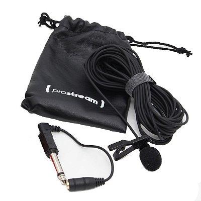 Microfone de lapela Prostream LAV-GO