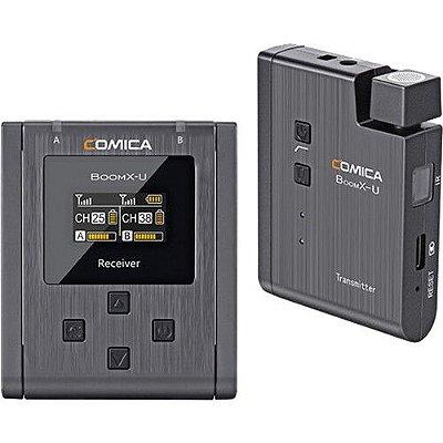 Sistema de microfone sem fio Comica Audio BoomX-U U1