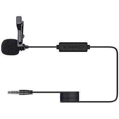 Microfone de lapela Comica Audio CVM-V01SP (cabo de 2,5 m)