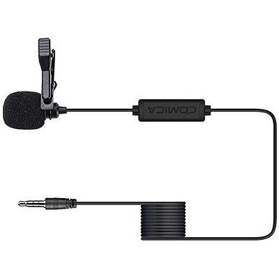 Microfone de lapela Comica Audio CVM-V01SP (cabo de 4,5 m)