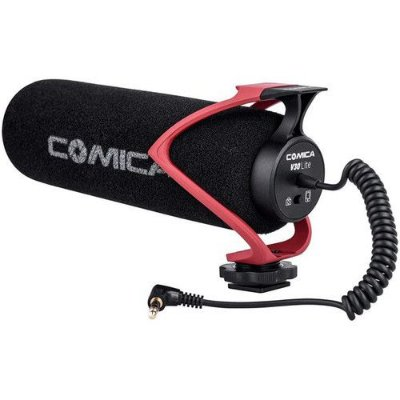 Microfone Shotgun Comica Audio CVM-V30 LITE R