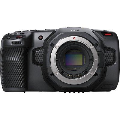 Câmera Cinema Pocket Blackmagic Design 6K + Curso Online Grátis
