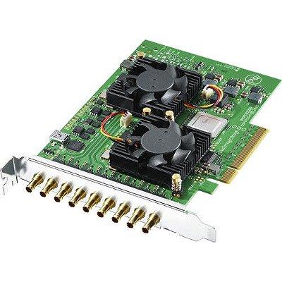 Placa Blackmagic Design DeckLink Quad 2 de 8 canais 3G-SDI