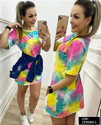 Camisão Tie Dye