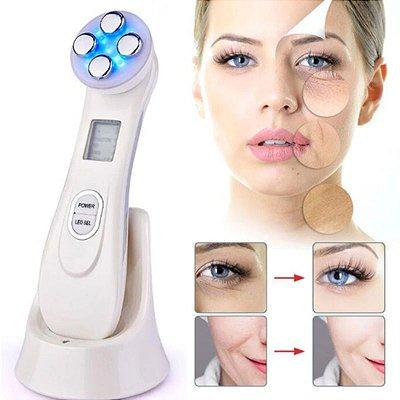 Aparelho Radiofrequência Fototerapia Estética Facial LED
