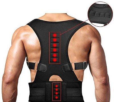 Corretor de Postura Magnético, Coluna e Ombro Sbelt