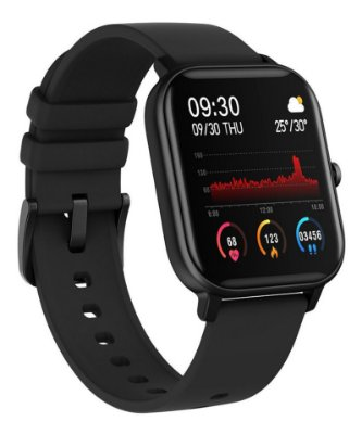 Smartwatch P8 Relógio Inteligente Pulseira Esportiva Bluetooth 5.0 IPX7