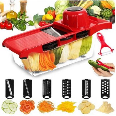 Cortador e Fatiador Premium de Cozinha - Frete Grátis