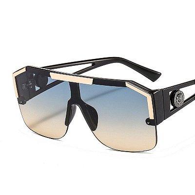 D&T Óculos Feminino Lente Colorida UV400