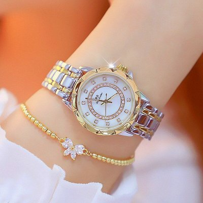 Relógio Diamond + Bracelete de brinde