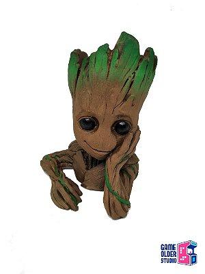 Baby Groot Guardiões da Galáxia Vaso de Planta