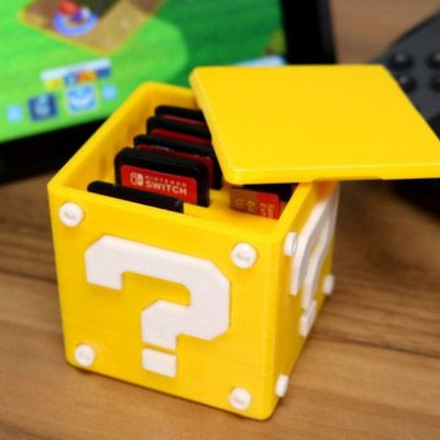 Question Block Nintendo Switch Cartridge Case