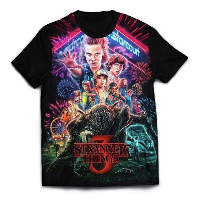 Camisa Stranger Things 3