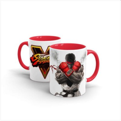 Caneca STREET FIGHTER Ryu BLACK