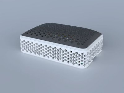 Case Raspberry Pi 4 Colmeia