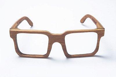 Armação de Óculos de Grau de Madeira Leaf Eco Andy