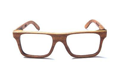 Armação de Óculos de Grau de Madeira Leaf Eco Beagle