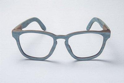 Armação de Óculos de Grau de Madeira Leaf Eco Charles