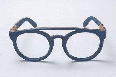 Armação de Óculos de Grau de Madeira Leaf Eco Eleanor