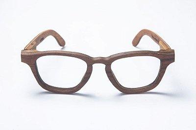 Armação de Óculos de Grau de Madeira Leaf Eco De Bubuia