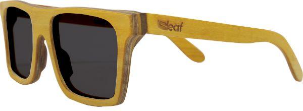 Óculos de Sol de Madeira Leaf Eco Beagle Amarelo