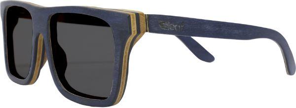 Óculos de Sol de Madeira Leaf Eco Beagle Azul Escuro