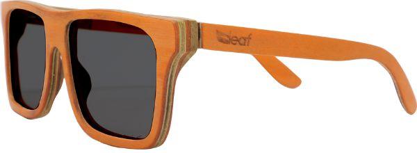 Óculos de Sol de Madeira Leaf Eco Beagle Laranja