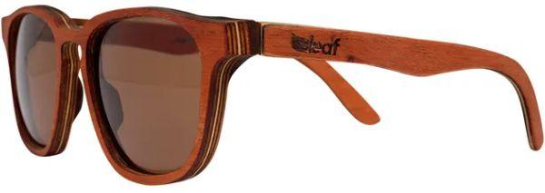Óculos de Sol de Madeira Leaf Eco Charles Mogno