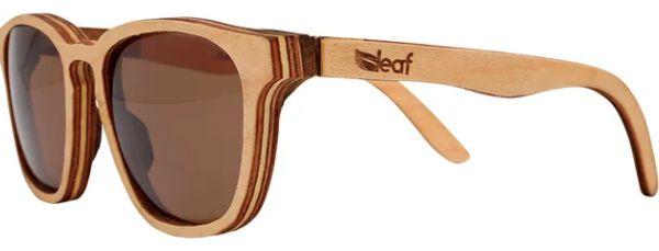 Óculos de Sol de Madeira Leaf Eco Charles Maple