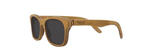 Óculos de Sol de Madeira Leaf Eco Groove Cerejeira