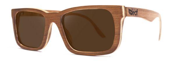 Óculos de Sol de Madeira Leaf Eco Miles Imbuia