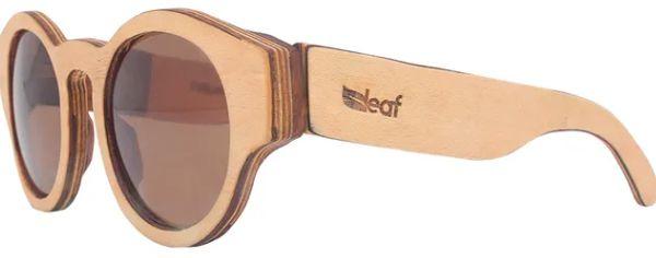 Óculos de Sol de Madeira Leaf Eco Pelican Maple