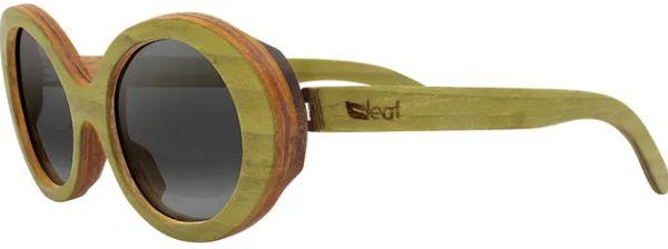 Óculos de Sol de Madeira Leaf Eco Kurt Verde
