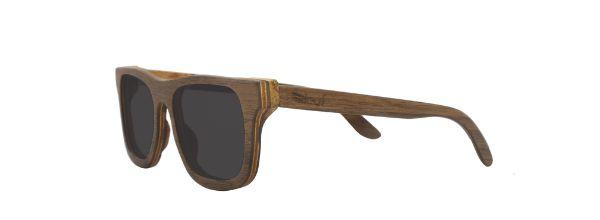Óculos de Sol de Madeira Leaf Eco Roy Cedrinho
