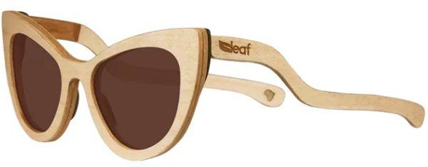 Óculos de Sol de Madeira Leaf Eco Thunder Maple
