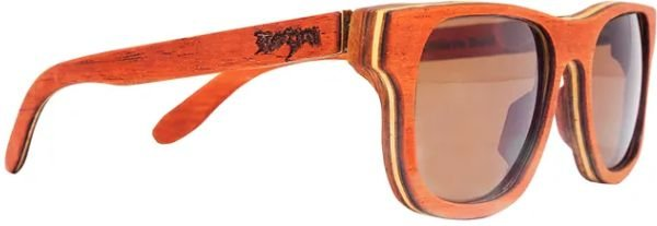 Óculos de Sol de Madeira Leaf Eco Rozini Roy Mogno