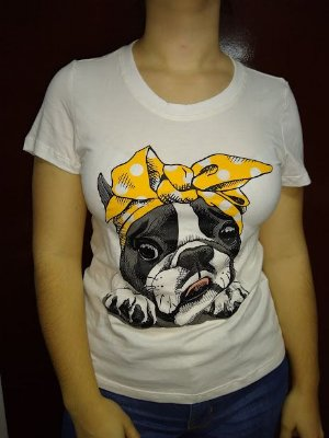 Baby Look Mima Pet Estampas Diversas