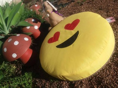 Cama Emoji Apaixonado