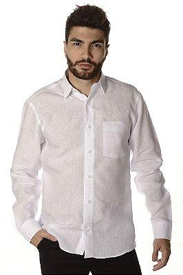 Camisa | Manga Longa Tradicional - 100% Linho Fio Irlandês