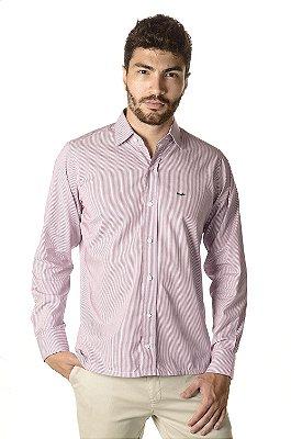Camisa - Manga Longa Slim | 100% Algodão - Fio 50