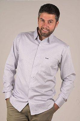Camisa Branca - Manga Longa Tradicional | Fio 60