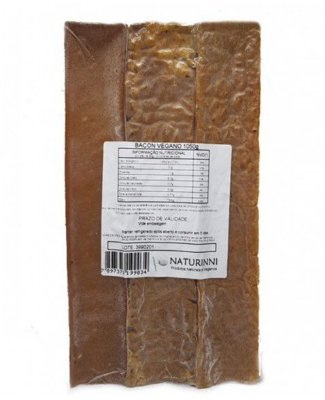 Bacon Vegano Naturinni 1kg (Congelado)