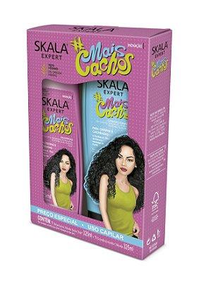 Kit Shampoo + Condicionador Skala Mais Cachos 325mL (Vegano)