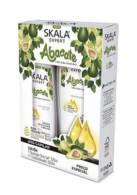Kit shampoo + Condicionador Skala Abacate com óleo de Rícino 325mL