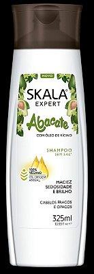 Shampoo Abacate com óleo de Rícino Skala 325ml (Vegano)