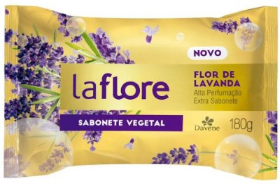 Sabonete em Barra Davene Flor de Lavanda 180g (Vegano)