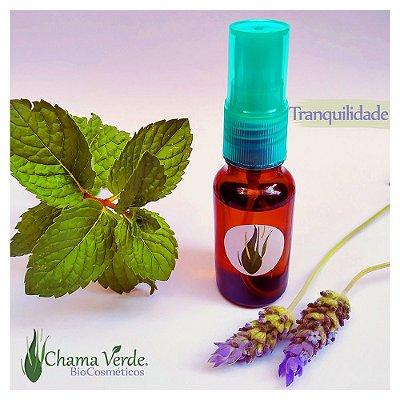Perfume Vegano Natural Artesanal Floral Spray Tranquilidade 20ml Chama Verde BioCosmética Nutritiva