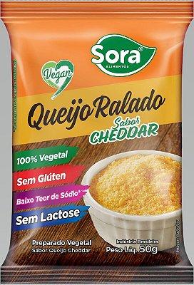 Queijo Ralado Sora sabor Cheddar 50g (Vegano)