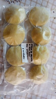 Empadas de creme de palmito com alho poró Veganbull 450g (8 unidades por embalabem)