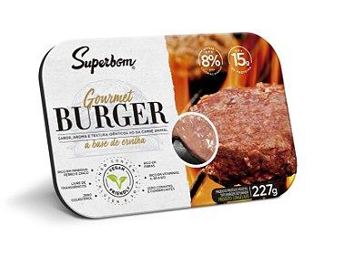 Burger gourmet Superbom 227g (Congelado) Embalagem com 2 unidades